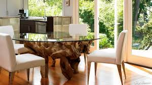 Home Table Decor by Glass Round Dining Table Stylish And Trendy Home Décor Youtube