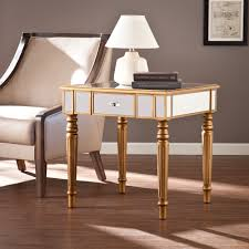 gold antique mirror coffee table with metal u2014 home design