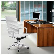 Swivel Computer Desk Yescomusa Rakuten Executive High Back Ribbed Pu Leather Swivel