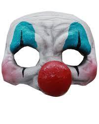 scary clown eye mask for horror clowns horror shop com