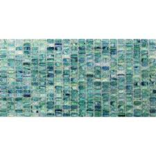 Stained Glass Backsplash by Greens 3x6 Tile Flooring The Home Depot