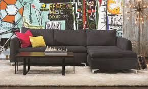 Raymour And Flanigan Chaise Living Room Camden Chaise Sectional Sofa With Haynes Furniture