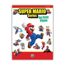 super mario bros piano music book easy