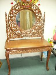 golden wood teak furniture s pte ltd teak classic dessing table
