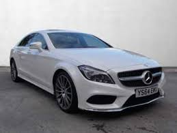 mercedes amg 64 used mercedes cls white for sale motors co uk