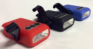 hand crank led light hand crank 5 led bright light flashlight package of 3 red black blue