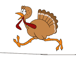 thanksgiving turkey running animated animated gif popkey