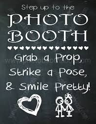 photo booth sign 1 wedding photo booth sign chalkboard