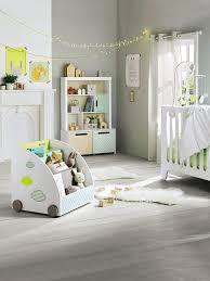 tour de lit bébé brodé pic nic vert vertbaudet