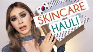 korean skincare haul acne prone sensitive skin products youtube