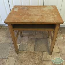 Kids Activity Desk by Old Desk Turned Kids Activity Table Retired Grammie