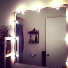 light ideas battery operated makeup mirror mirror