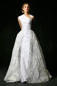 One Shoulder Wedding Dress Alluring One Shoulder Bridal Gowns Fall Style Goes Trendy