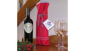 wine for gift gift bag