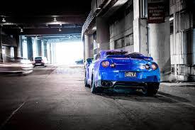 Nissan Gtr Back - nissan gt r r35 blue nissan blue back of shadow cars blur hd wallpaper