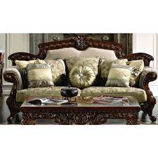 Traditional Sofa Sets Living Room by Hd 296 Homey Design Traditional Sofa Set Living Room By Room