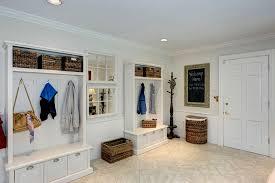 Locker Bookshelf Traditional Mud Room With Travertine Tile Floors U0026 Built In