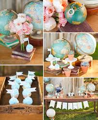 travel themed table decorations beautiful travel themed wedding centerpieces photos styles ideas
