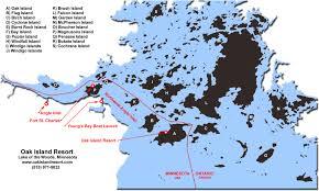 Minnesota Usa Map by Map Angle Inlet Big Narrows Young U0027s Bay