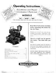 briggs u0026 stratton automobile parts 97000 user guide