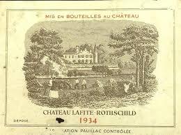 learn about chateau lafite rothschild 1934 château lafite rothschild bordeaux médoc pauillac