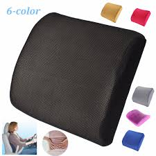 Office Chair Back Support Cushion Sale Memory Foam Lumbar Back Support Cushion Removable
