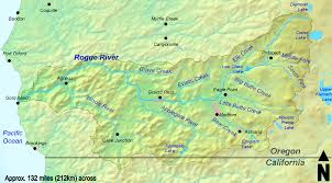Map Southern Oregon by Ranger Springs At The Head Of The Rogue River Explore