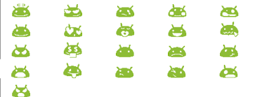 android smileys which characters do i need to send from android phone to show