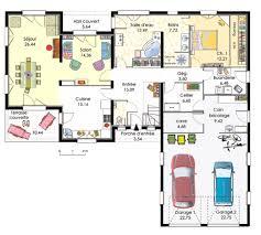 plan maison de plain pied 3 chambres plan maison plain pied 3 chambres moderne maison fran ois fabie con
