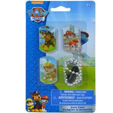 nick jr paw patrol dog tags 3 toys u0026 games