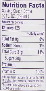 welch s light grape juice nutrition facts amazon com welch s grape juice cocktail 10 ounce bottles pack of