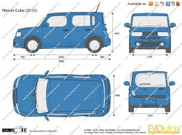 2015 nissan cube the blueprints com vector drawing nissan cube