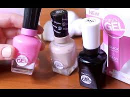 how to cure gel nails without a uv light gel nail polish with no l review youtube