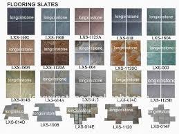 outdoor black slate flooring tiles walkway floor tiles