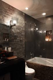 slate bathroom ideas 35 black slate bathroom wall tiles ideas and pictures home decor