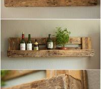diy shelving unit small kitchen shelves ideas with wooden material