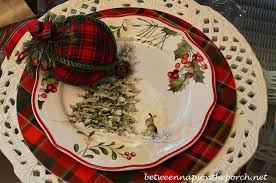 nature themed table setting tablescape