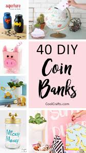 40 cool diy piggy banks for kids u0026 adults u2022 cool crafts