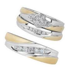 trio wedding sets trio sets engagement ring and wedding ring sets page 1 reeds