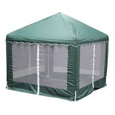 Patio Gazebo For Sale by King Canopy Garden Party 10 Ft W X 10 Ft D Green Gazebo Gp1010g