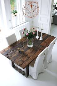 rustic modern dining room table and chairs modern rustic dining