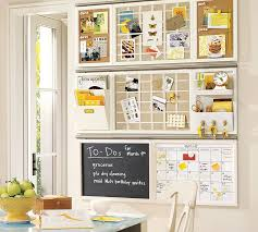 kitchen wall organization ideas build your own daily system components white pottery barn
