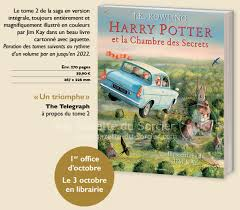 harry potter et le chambre des secrets la gazette du sorcier exclusif date et couverture harry potter