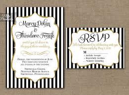 black and white striped wedding invitations black and white striped wedding invitations black and white