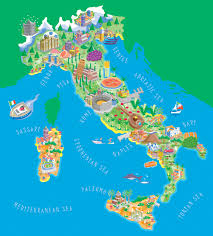 Italy Map Cities Best Photos Of Map Of Italy In English Italy Map Italy Map
