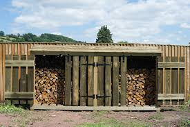 wood store large wooden log store just wood