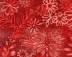 tonga batik for making clothing and also quilting wild flower