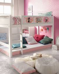 Loft Bed Designs For Girls Chic Bedroom Idea For Twin Girls With Loft Bed Design Cute Ideas