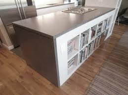 kitchen island countertop verdicrete concrete countertops brooks custom