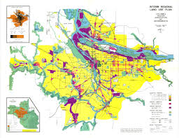 Portland Oregon County Map by Portland Regional Planning History Oregon Sustainable Community
